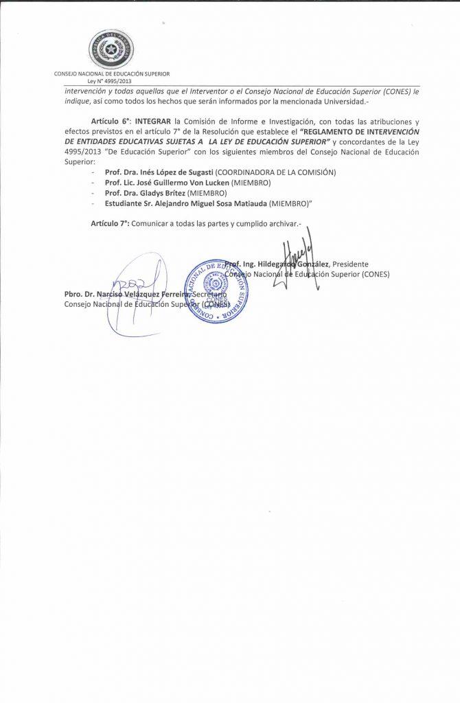 RESOLUCION N° 154-2015 (3)