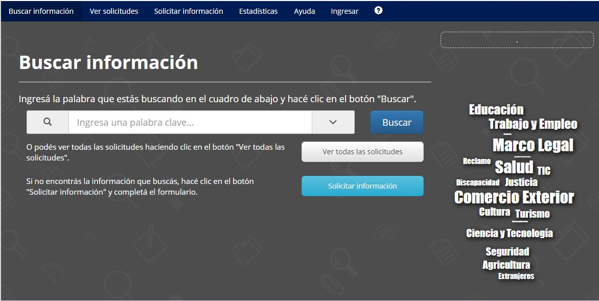 portal unificado de información publica